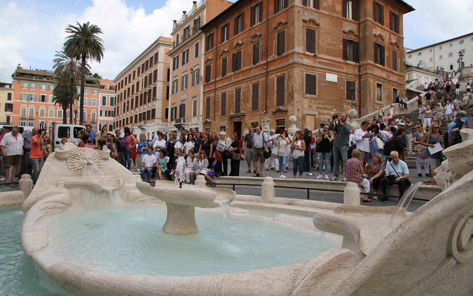 Fontana della Barcaccia  CARP Group